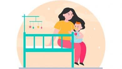 Foto de Como fazer o bebê dormir a noite toda? 10 dicas práticas!